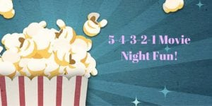 Movie night family event