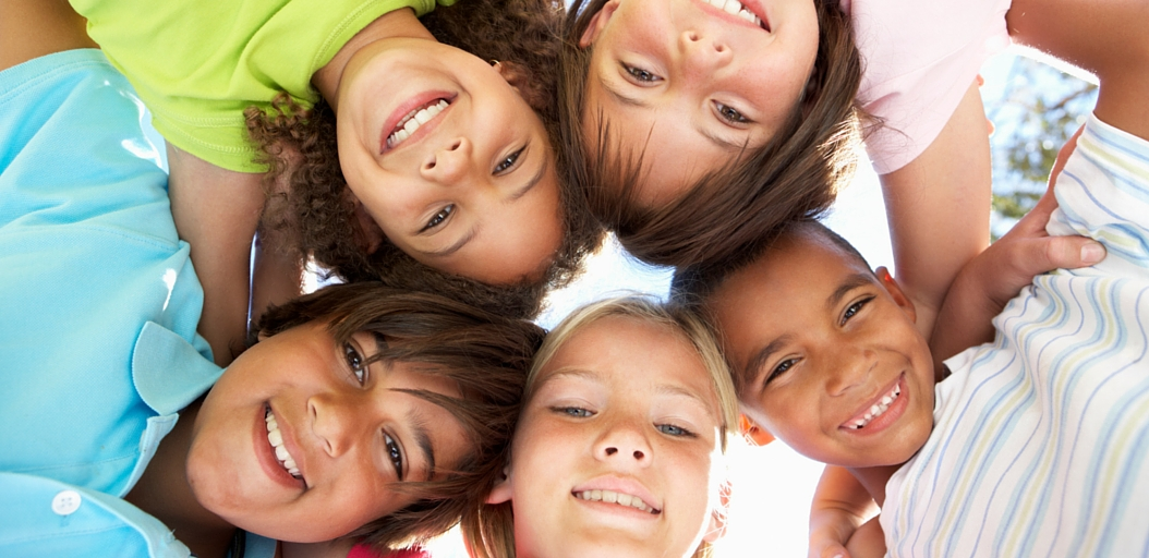 Children from different cultures in the classroom