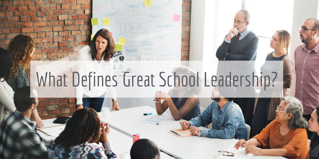 Great school leadership