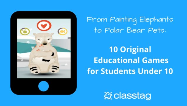 From Painting Elephants to Polar Bear Pets: 10 Original Educational Games for Students Under 10