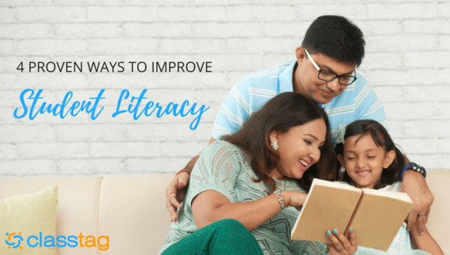4 Proven Ways to Improve Student Literacy