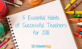 5 Essential Habits of Successful Teachers for 2018