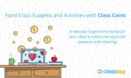 Fund Class Supplies and Activities with Class Coins